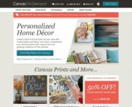 Canvas On Demand